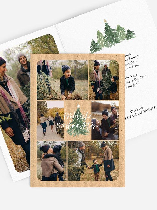 Weihnachtskarte Tannenduft