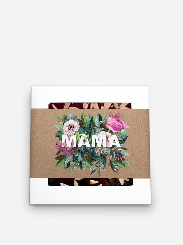 Schokolade Muttertag Geschenkbox Blumen für Mama