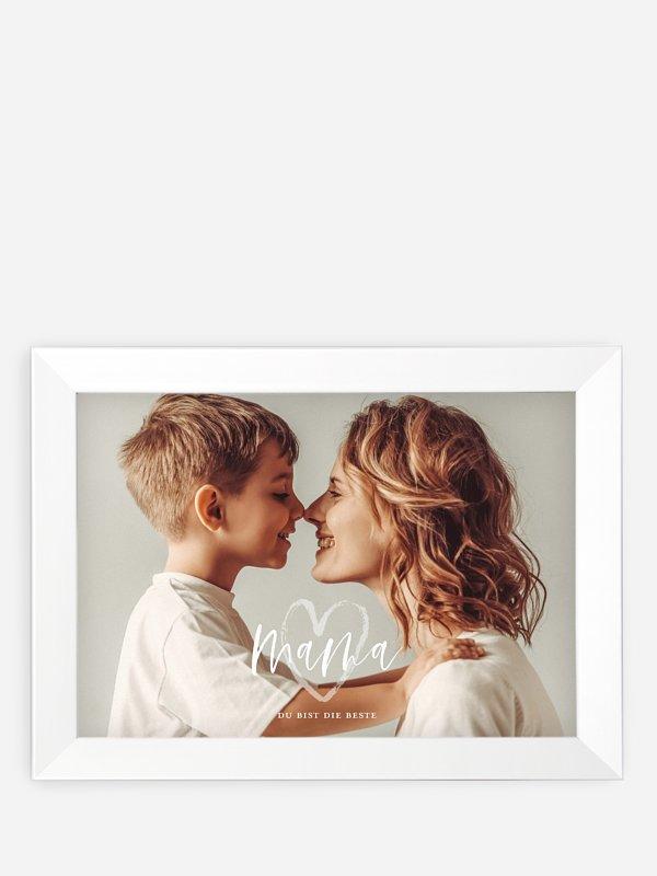 Wandbild Muttertag Herzenswünsche
