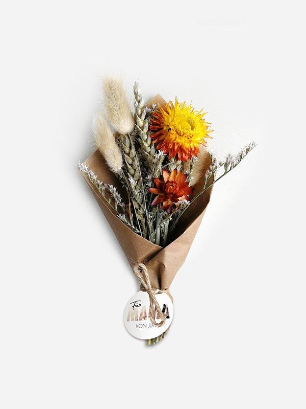 Trockenblumen Bild für Mama