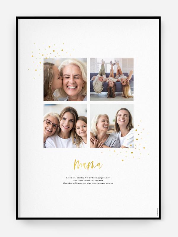 Poster Muttertag Funkelstern