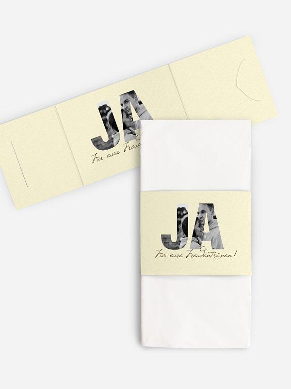 Freudentränen-Taschentücher Durchblick