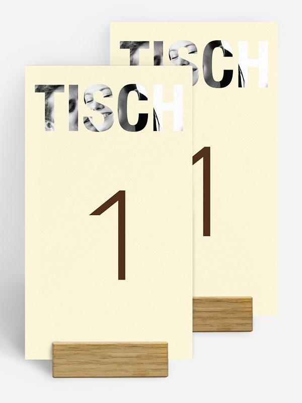 Tischnummer Durchblick