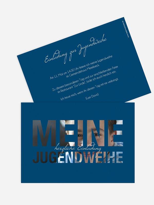 Einladung Jugendweihe Durchblick