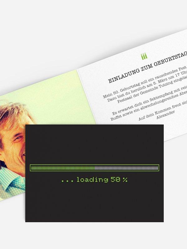 Einladung 50. Geburtstag Loading