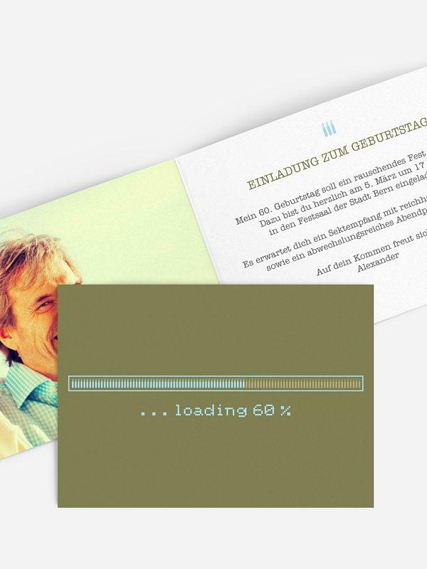 Einladung 60. Geburtstag Loading