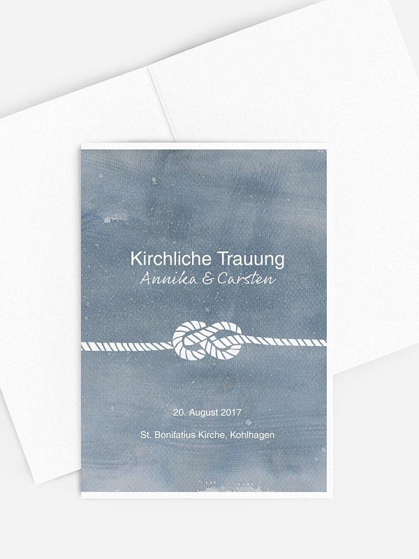 Kirchenheft Hochzeit Tying the knot