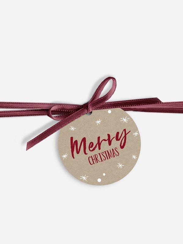 Geschenkeanhänger Weihnachtsfunkeln