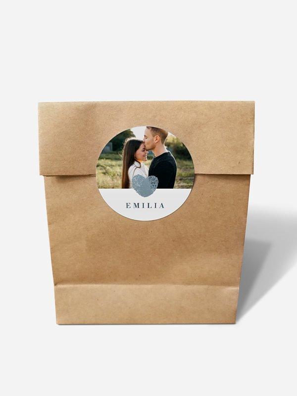 Papiertüte personalisiert Loveprint