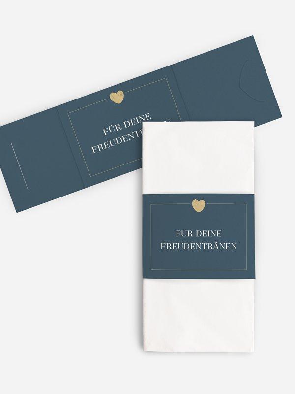 Freudentränen-Taschentücher Loveprint