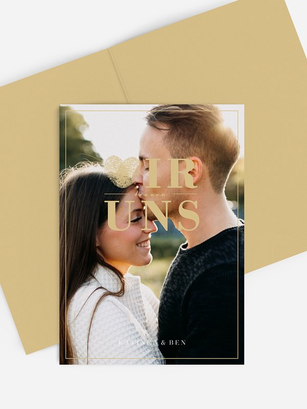 Kirchenheft Hochzeit Loveprint