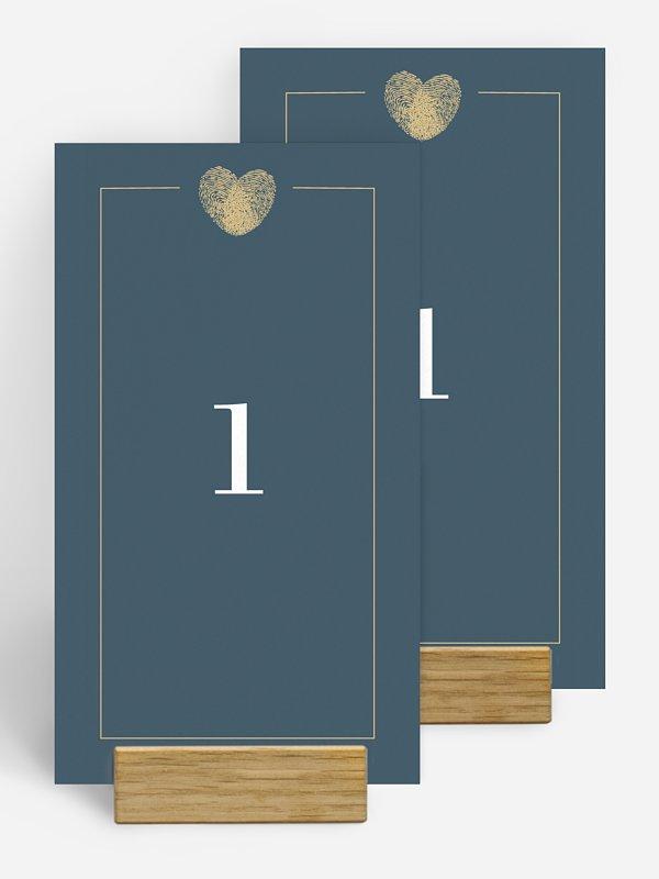 Tischnummer Loveprint