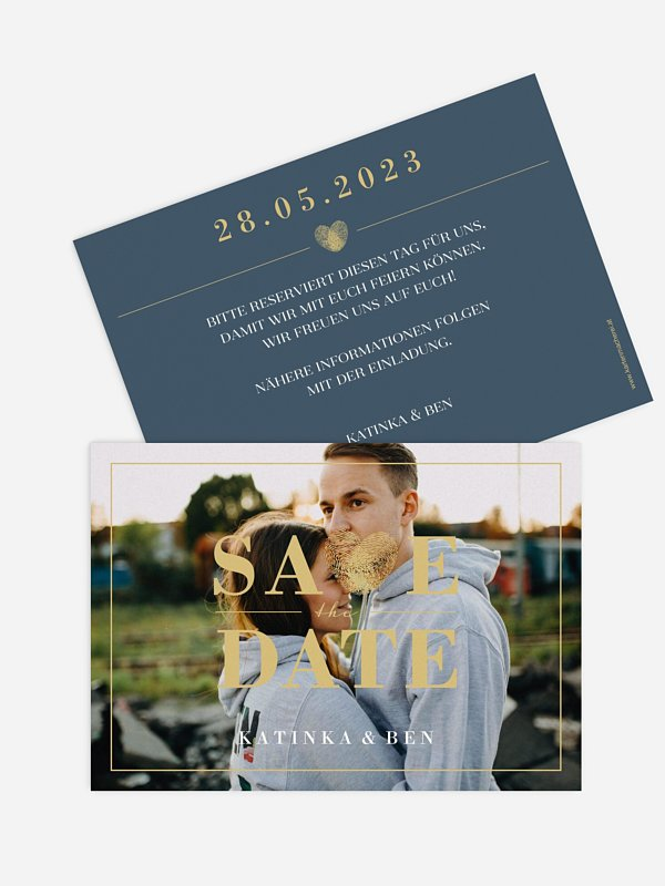 Save-the-Date Karte Loveprint