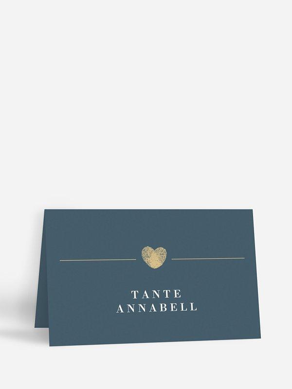 Tischkarte Hochzeit Loveprint