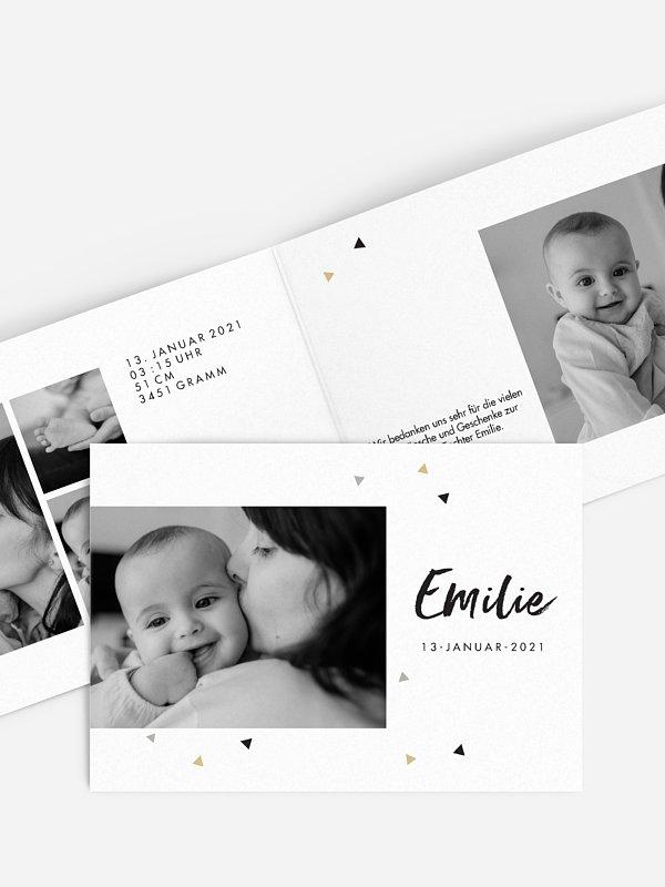 Geburtskarte Schätzchen