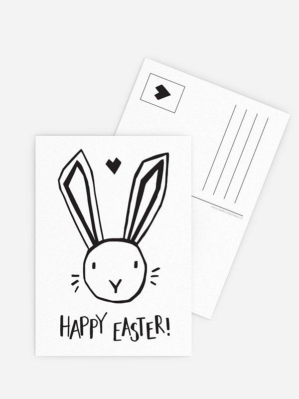 Osterkarte Happy Easter