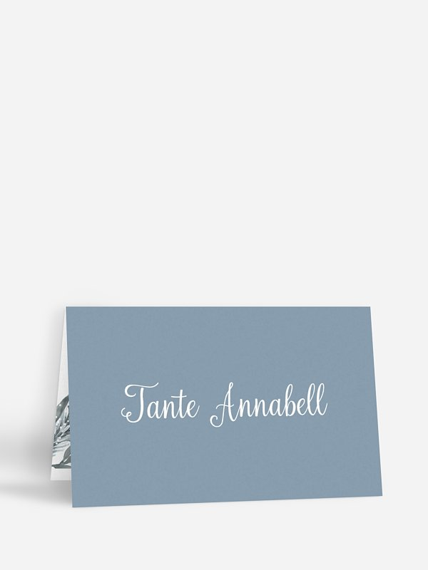Tischkarte Hochzeit Painted Pine