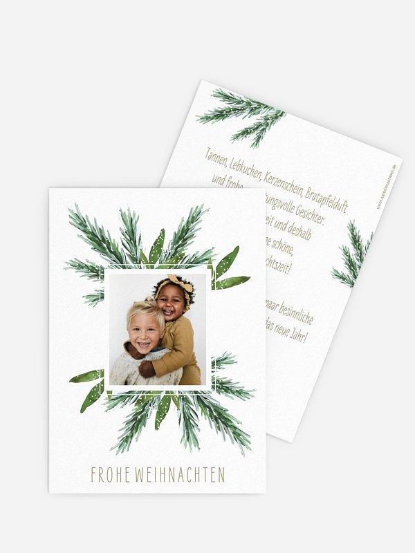 Weihnachtskarte Painted Pine