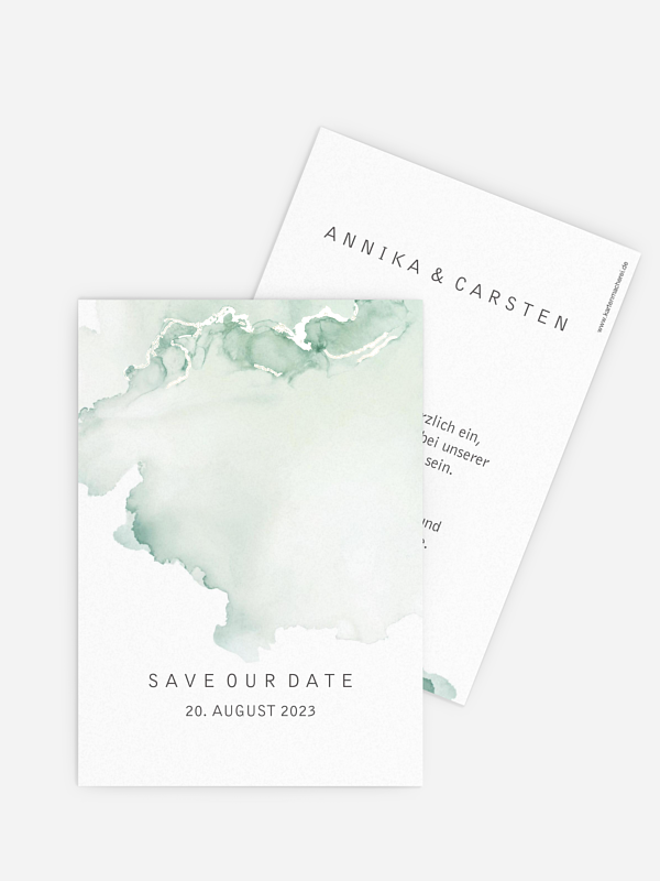 Save-the-Date Karte Bella Premium