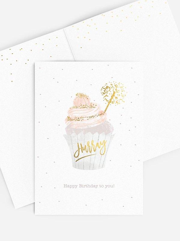 Grußkarte Cupcake