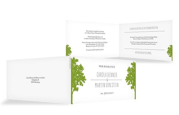 Hochzeitseinladung Nature Inspired