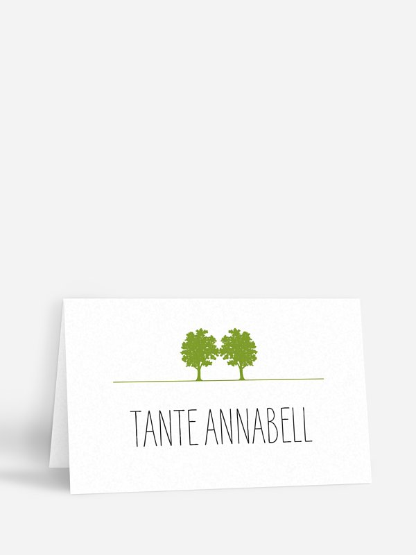 Tischkarte Hochzeit Nature Inspired