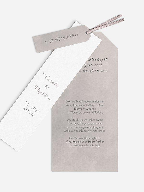 Hochzeitseinladung Artwork