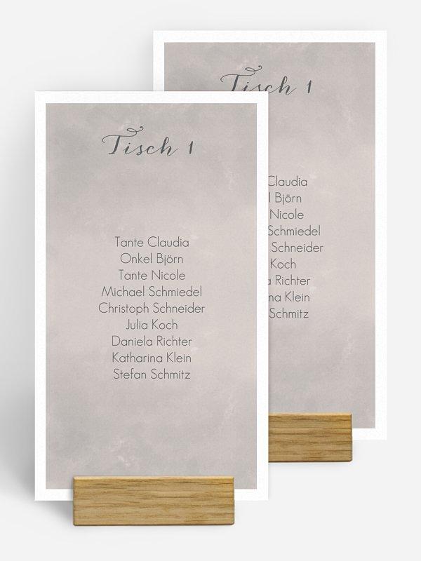 Gruppentischkarte Artwork