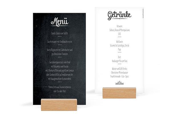 Menükarten zur Hochzeit » Professionell und individuell drucken