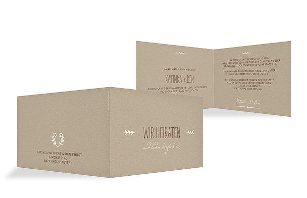 Hochzeitseinladungen drucken: Hochzeitskarten in 1-2 Tagen