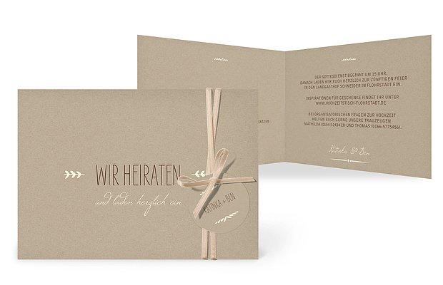 hochzeitseinladungen drucken: einladungskarten zur hochzeit, Einladungen