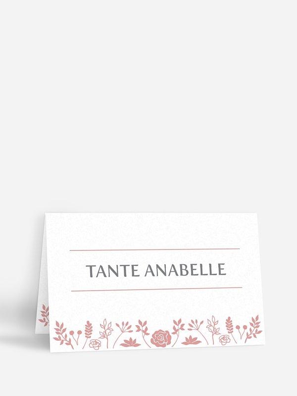 Tischkarte Hochzeit Romantic Vintage