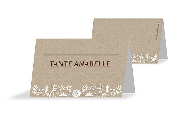 Tischkarten Hochzeit Romantic Vintage