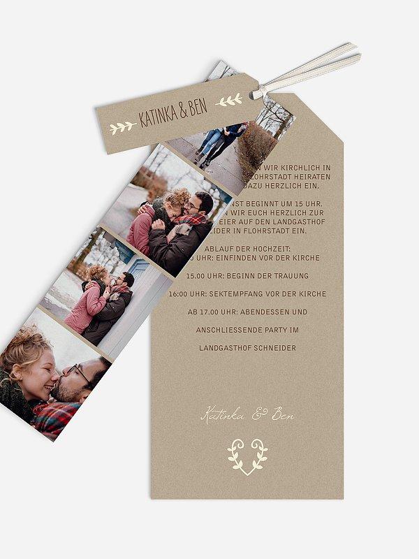 Hochzeitseinladung Rustic Love