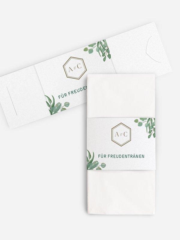 Freudentränen-Taschentücher Eucalyptus