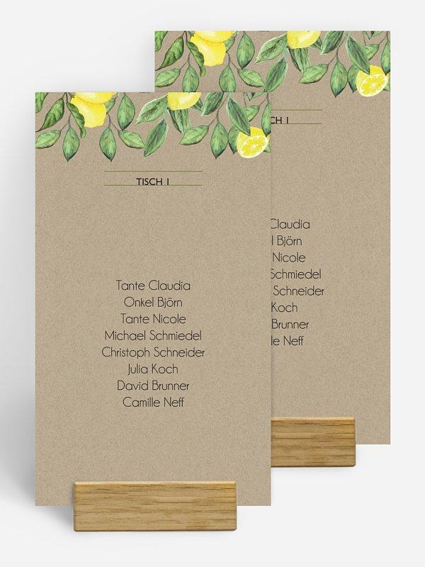 Gruppentischkarte Amalfi