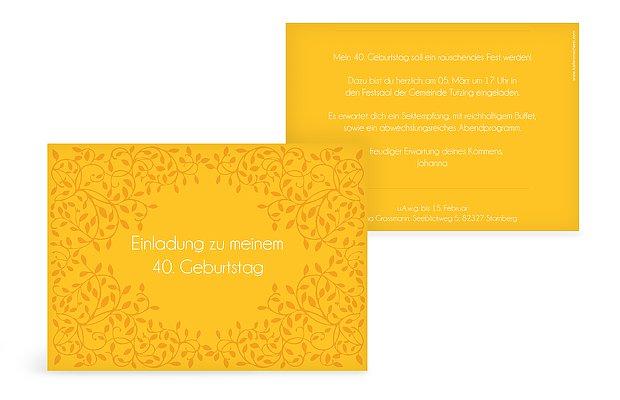 """Einladungskarte """"Romance"""""""