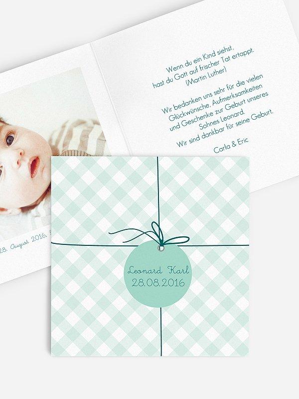 Geburtskarte Geschenk