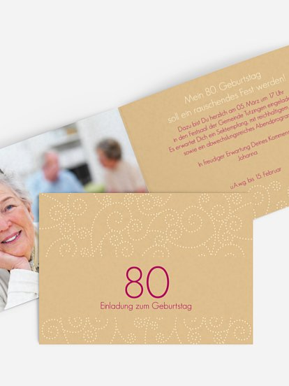 Einladung 80 geburtstag spruch lustig