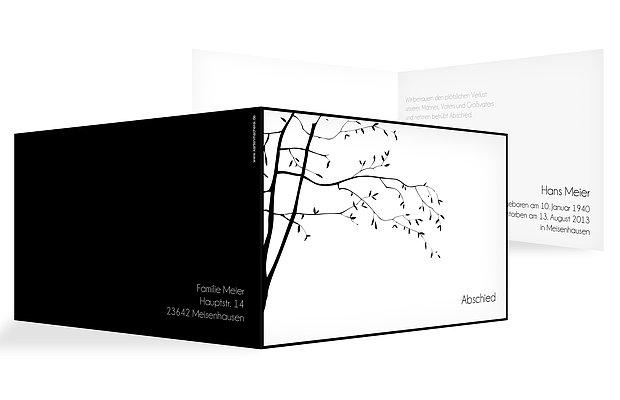 trauerkarten gestalten drucken hochwertig pers nlich. Black Bedroom Furniture Sets. Home Design Ideas