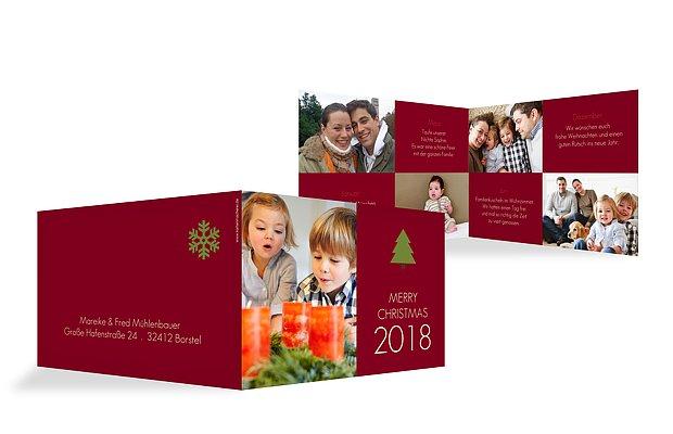 """Weihnachtskarte """"Baum"""""""
