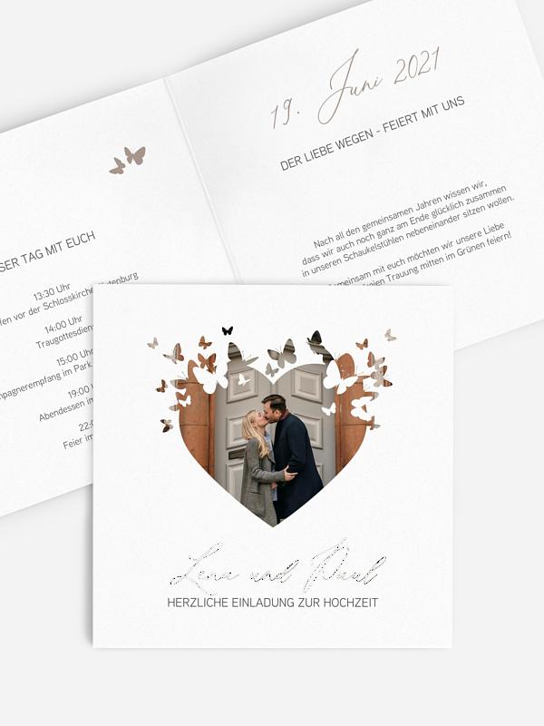 Hochzeitseinladung Promise