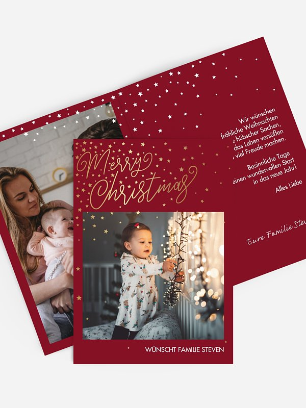 Weihnachtskarte Full of Grace