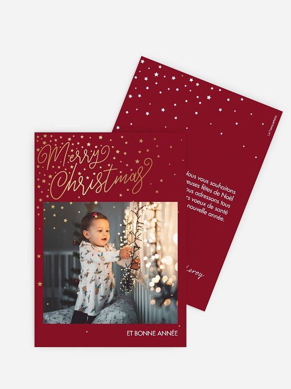 Carte de Noël Full of Grace