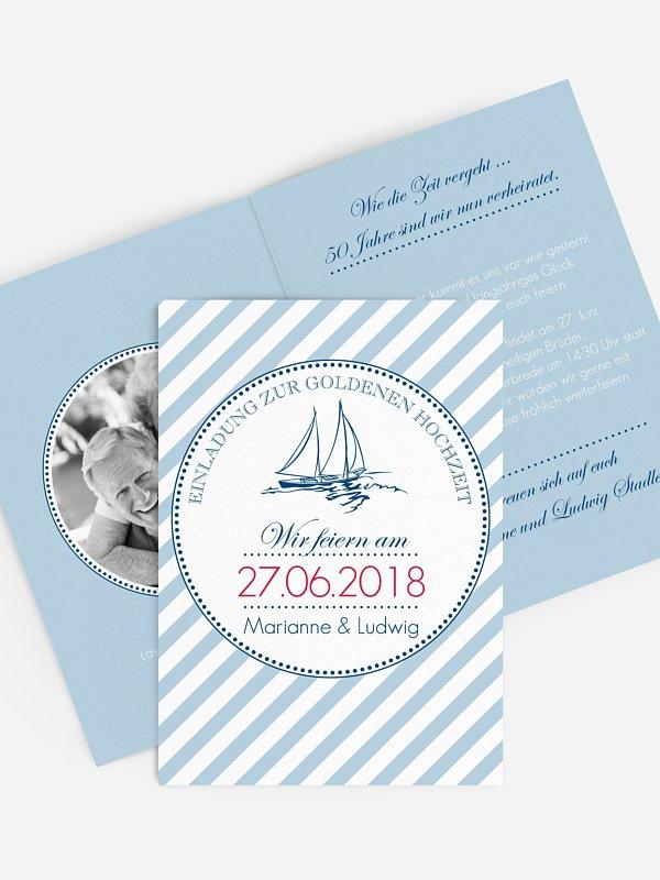 Einladung Goldene Hochzeit Maritim