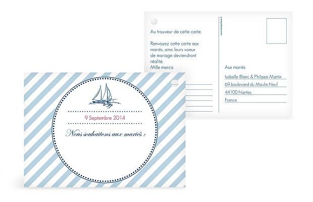 Carte pour ballon Maritime