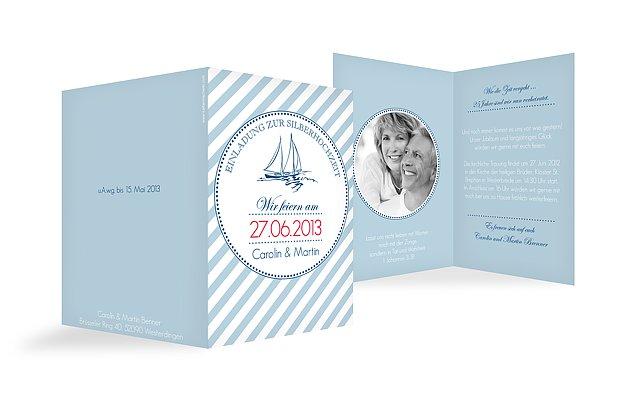 Einladung Silberhochzeit Maritim
