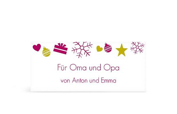Geschenkaufkleber Für Weihnachten Eigene Sticker Gestalten