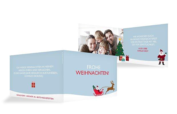 """Weihnachtskarte """"Weihnachtsgeschichte"""""""