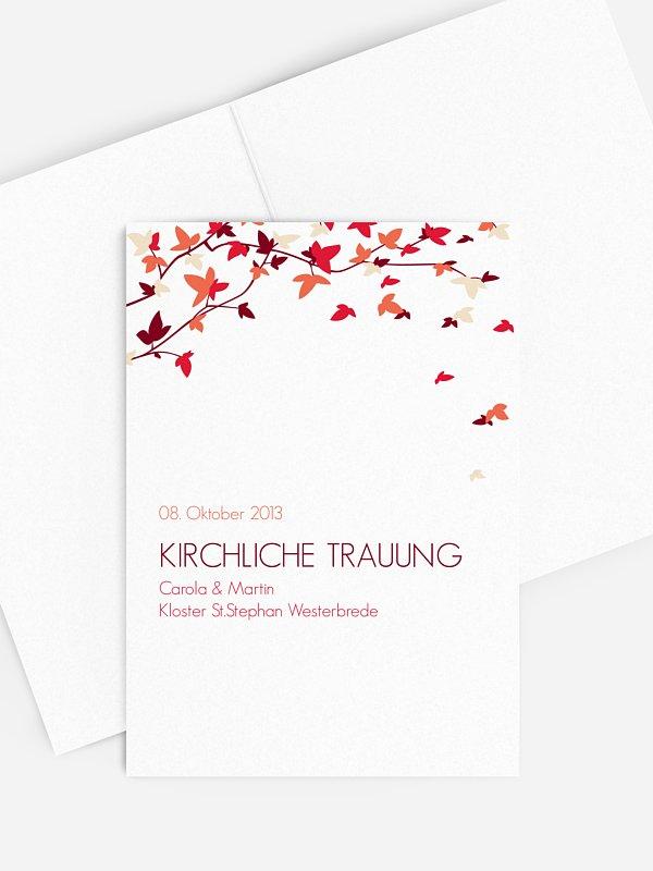 Kirchenheft Hochzeit Blättertanz